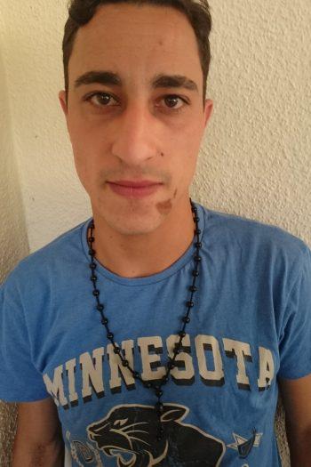 Khalil Asmosli sucht Arbeit als Bäcker