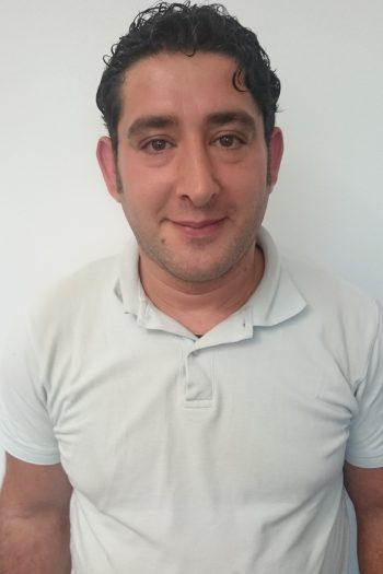 Ali Alkrin sucht Praktikumsplatz als Elektriker