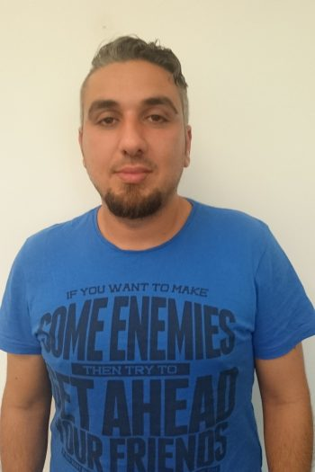 Raed Jemo sucht Ausbildungsplatz als Verkäufer