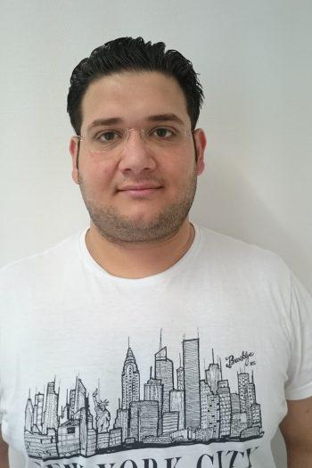 Hamza Altinawi sucht Praktikumsplatz