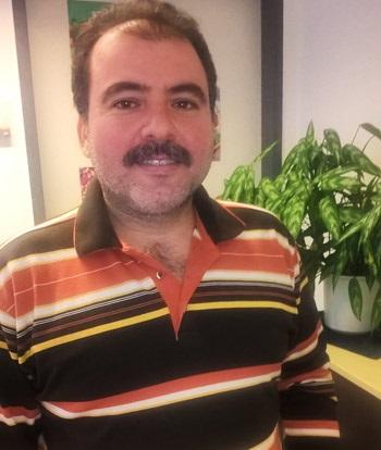 Ziad Khaleh aus Syrien arbeitet bei der Sadtverwaltung Teltow